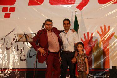 نخستین شب جشن بزرگ خیریه کوثر در رفسنجان برگزار شد