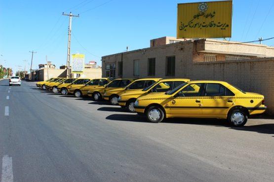 آغاز تحویل خودروهای جایگزین تاکسی فرسوده در شهر رفسنجان