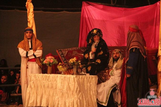 اجرای شش شب مراسم تعزیه در رفسنجان (۱)