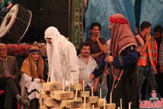 اجرای شش شب مراسم تعزیه در رفسنجان (۴)