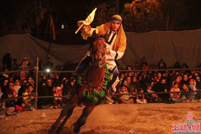 اجرای شش شب مراسم تعزیه در رفسنجان (۵)
