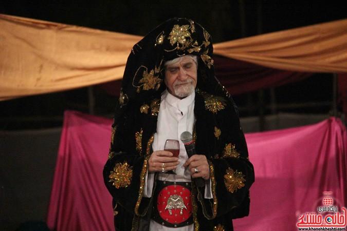 اجرای شش شب مراسم تعزیه در رفسنجان (۷)