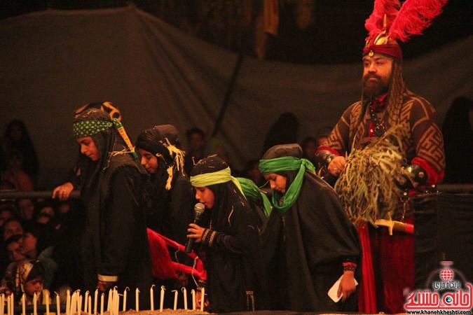 اجرای شش شب مراسم تعزیه در رفسنجان (۹)