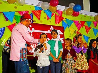 برپایی جشن بزرگ کودک و نوجوان در پارک جوان