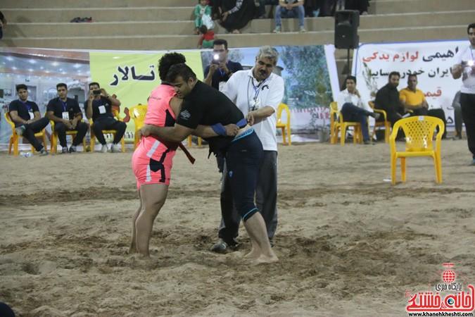 مسابقات ورزشی جشنواره بازیهای بومی محلی کشور به میزبانی رفسنجان