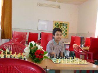 کسب مقام سوم کشوری توسط نوجوان شطرنج باز رفسنجانی