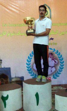 کسب عنوان نخست توسط تیم کرمان در مسابقات بین اللملی کاراته سبک شوتوکان jks مشهدمقدس