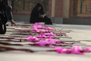 گلباران قبور شهدای رفسنجان به مناسبت هفته تعاون