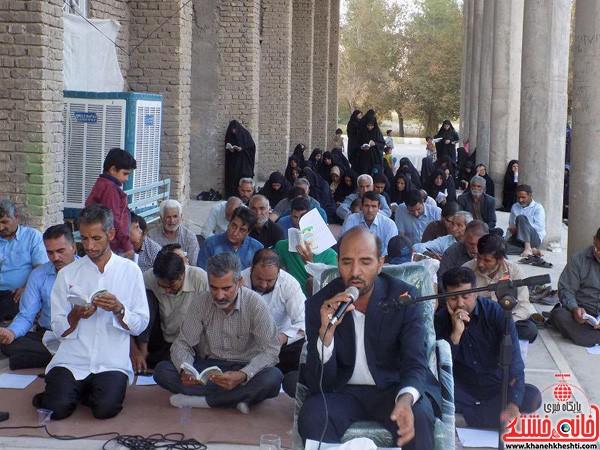 مراسم دعای عرفه در جوار امامزاده سیدجلاالدین نوق