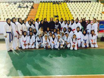 بانوان کاراته کای رفسنجانی در مسابقات کشوری خوش درخشیدند