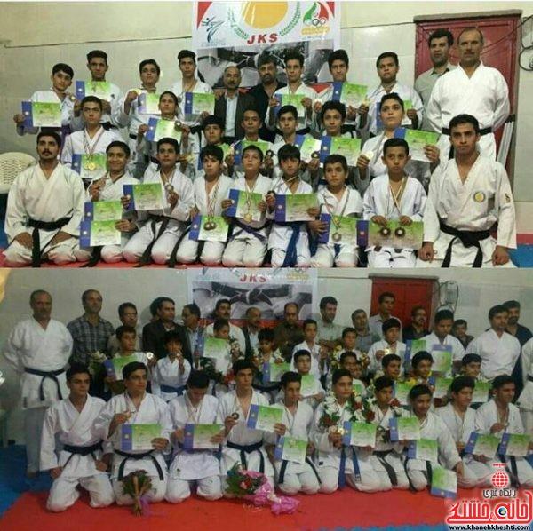 درخشش باشگاه ملی پوشان رفسنجان با ۲۵ مدال رنگارنگ در مسابقات بین المللی