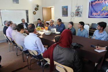 اهدای نشان افتخار به شهردار رفسنجان + عکس