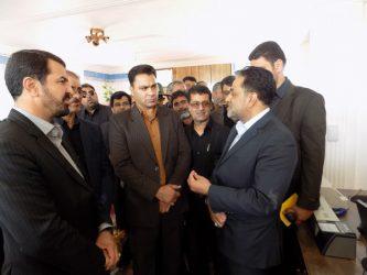 ساختمان بخشداری در شهر صفاییه رفسنجان افتتاح شد / تصاویر