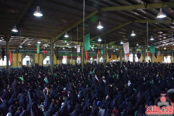 همایش شیرخوارگان حسینی در معراج شهداء حسینیه بزرگ ثارالله شهرستان رفسنجان