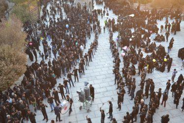 دوربین خانه خشتی در مراسم روز عاشورا امام زاده رضا(ع) رفسنجان