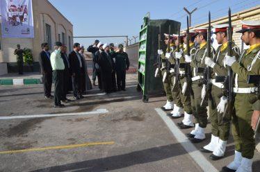 صبحگاه مشترک نیروهای مسلح رفسنجان به مناسبت هفته ناجا