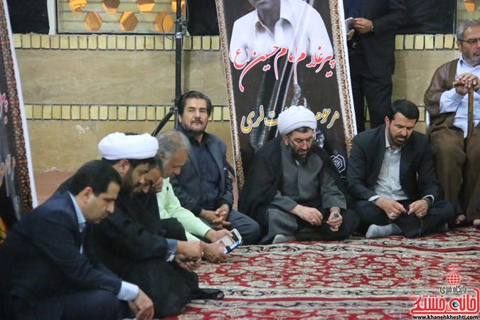 آیین تجلیل از پیرغلامان حسینی رفسنجان
