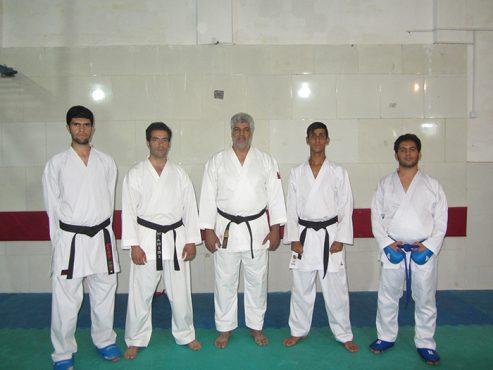 تمرین تیم های ورزشی دانشجویان دانشگاه آزاد رفسنجان برای حضور در مسابقات استانی و کشوری