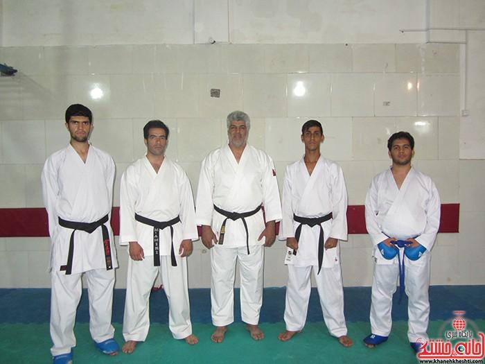 کاراته دانشگاه آزاد رفسمجان