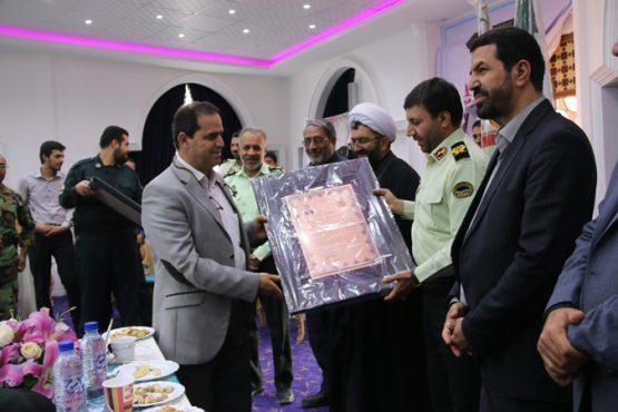 خیران امنیت ساز در رفسنجان تقدیر شدند / تصاویر