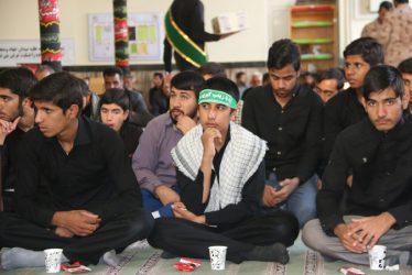 مجلس بزرگداشت روحانی شهید مدافع حرم سعید بیاضی زاده در رفسنجان / تصاویر