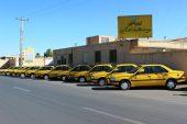 توقیف ۸ تاکسی مسافربری متخلف در رفسنجان