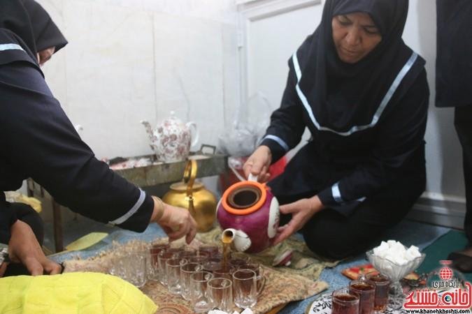 سنت پخت آش سجاد(ع) بانوان رفسنجانی