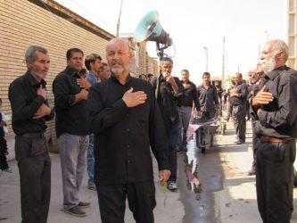 آداب و رسوم عزاداری محرم در محله صادقیون رفسنجان