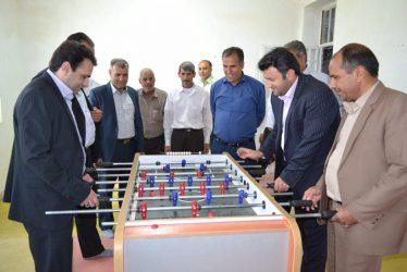 افتتاح سومین خانه ى ورزش روستایی رفسنجان در بخش کشکوئیه / تصاویر
