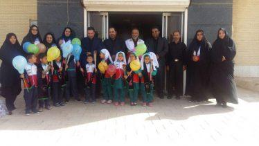 دلجویی از کودکان بیماری خاص بیمارستان رفسنجان به مناسبت روز جهانی کودک