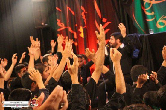 گزارش تصویری عزاداری هیات کربلا در رفسنجان