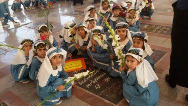 برگزاری مراسم روز کودک در گلزار شهدای رفسنجان