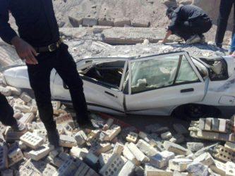 جزئیات حادثه فروریختن دیوار در مراسم تعزیه قاسم آباد رفسنجان + عکس