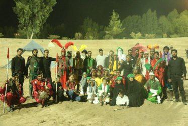 اولین شب اجرای مراسم هفت شب تعزیه حضرت سید الشهداء در رفسنجان / تصاویر
