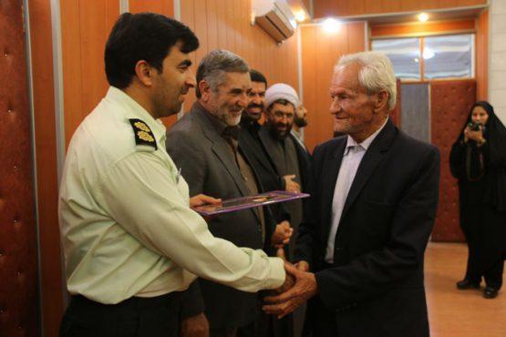 تجلیل از خانواده های شهدای نیروی انتظامی رفسنجان