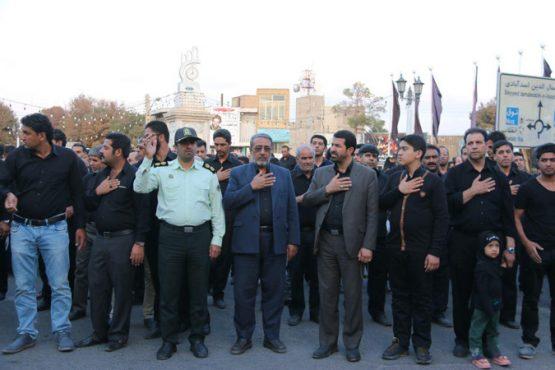 تجمع بزرگ ابالفضلیون محله علی آباد رفسنجان در روز تاسوعا / تصاویر