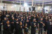 برگزاری مراسم عزای اباعبدالله الحسین(ع) در مسجد امام(ره) رفسنجان / تصاویر