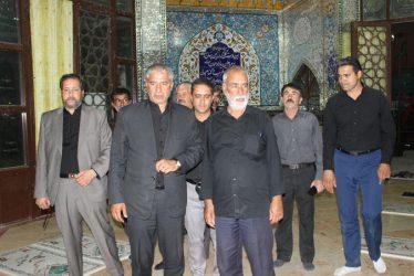 حضور نماینده مردم رفسنجان در جمع عزاداران حسینی در جوادیه فلاح / تصاویر