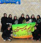 تیم بدمینتون بانوان رفسنجان به مقام برتر دست یافت