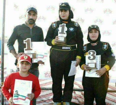 کسب چهار مقام قهرمانی توسط سه اتومبیلران رفسنجانی در مسابقات اسلالوم هشتگرد