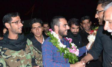 استقبال از مدافع حرم حضرت زینب (س) در هرمزآباد رفسنجان / تصاویر