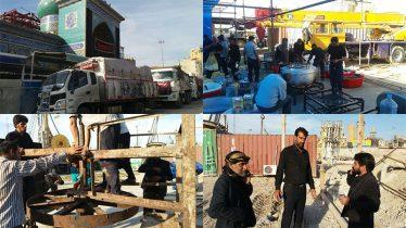آمادسازی موکب خاتم الانبیاء رفسنجان در کربلا / تصاویر