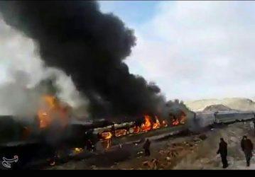 بازداشت سه نفر از عوامل برخورد دو قطار مسافربری در سمنان