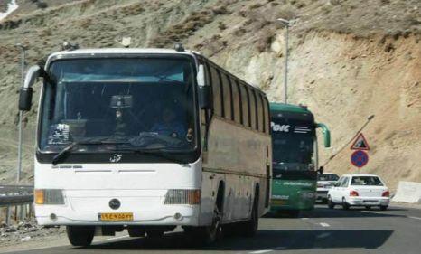 اعزام بیش از ۵۳۰۰ زائر اربعین با ناوگان حمل و نقل عمومی به مرز شلمچه