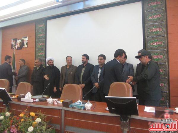 شورای اداری رفسنجان با موضوع آب برگزار شد