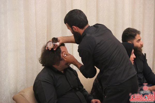 پشت صحنه فیلم سبز بخت با کارگردانی رضا حسنی رنجبر و حضور پرستو صالحی در رفسنجان