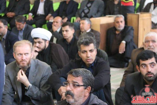 حضور عادل فردوسی پور در مجلس ترحیم حجتالاسلام حاج شیخ عباس پورمحمدی