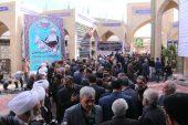 حضور باشکوه مردم و مسئولین در مراسم ترحیم حجتالاسلام حاج شیخ عباس پورمحمدی / تصاویر