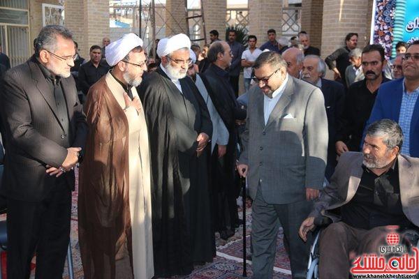 حضور باشکوه مردم و مسئولین در مراسم ترحیم حجتالاسلام حاج شیخ عباس پورمحمدی