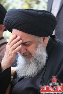 حضور حجت الاسلام امامی کاشانی در مراسم ترحیم حجتالاسلام حاج شیخ عباس پورمحمدی